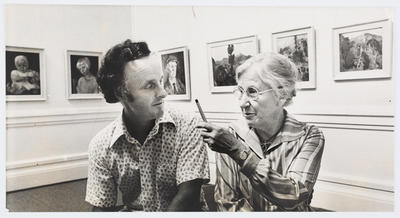 Unknown; Photograph of Gordon Collier and Janet Paul; Unknown; A2015/1/468