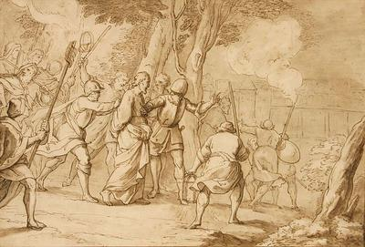 Bernadino Poccetti; Italian School; Jesus Christ taken before Caiaphas; 17th Century; 1922/1/6