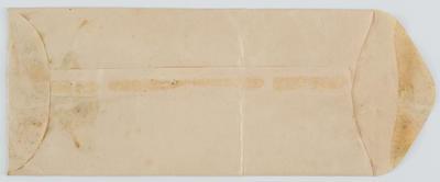 Unmarked Envelope