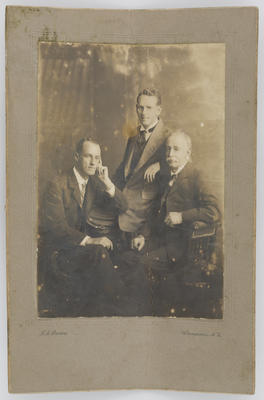 John Brodie and his two sons