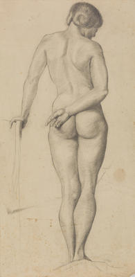 Untitled (Standing female nude)