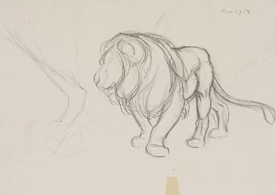 Vivian Smith; Untitled (Lion); Dec 1913; 1988/27/448