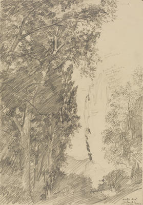 Vivian Smith; Untitled (Matai Road, Nelson); 24 Jan 1914; 1988/27/490