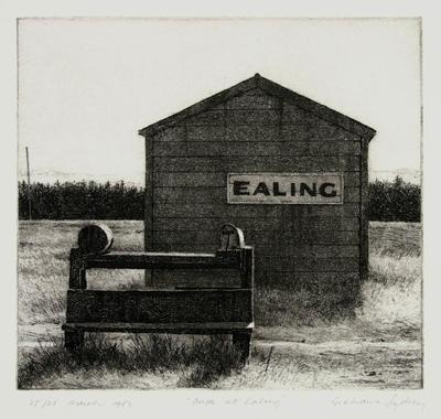 Grahame Sydney; Dusk at Ealing; 1982; 1983/7/3