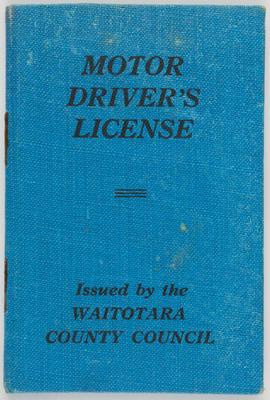 Unknown; Edith Collier's Driver's License; 30 Jun 1959; A2015/1/493