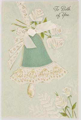 Unknown; Blank wedding card; Unknown; A2015/1/512