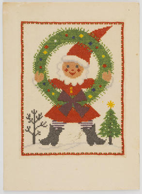 Unknown; Christmas card; Unknown; A2015/1/513