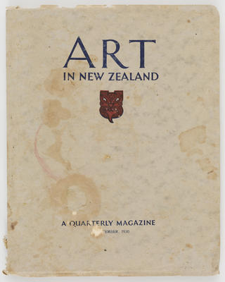 Unknown; Art in New Zealand Magazine; 1930; A2015/1/531