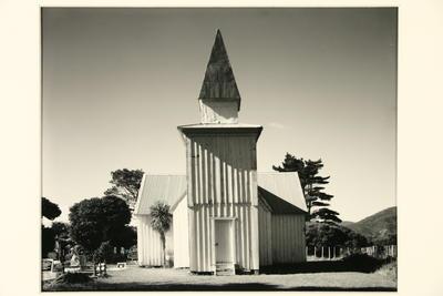 Anglican Church, Peninsular, Herekino Harbour, Northland 10 May 1982