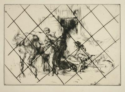 Untitled (Stable Scene)