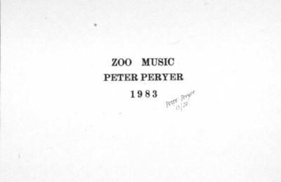 Zoo Music