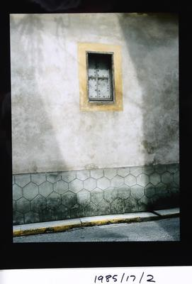 Wall and Yellow Window, Nerac, France, 1984