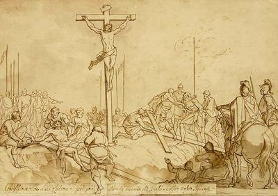 Bernadino Poccetti; Jesus Christ Raised on the Cross; 17th Century; 1922/1/24