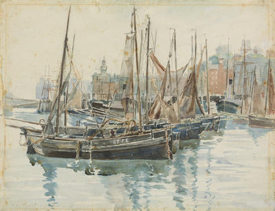 The Little Fishing Boats
