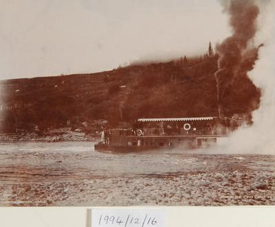 W H T Partington; 'Ohura' on the Napara Rapid; 1902; 1994/12/16