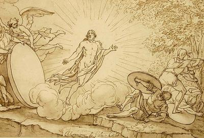 Bernadino Poccetti; The Resurrection of Jesus Christ; 17th Century; 1922/1/31