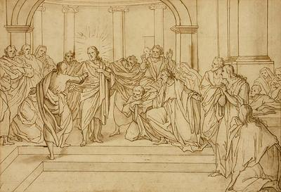 Bernadino Poccetti; Doubting Thomas; 17th Century; 1922/1/33
