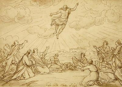Bernadino Poccetti; Jesus Christ Ascends into Heaven; 17th Century; 1922/1/34