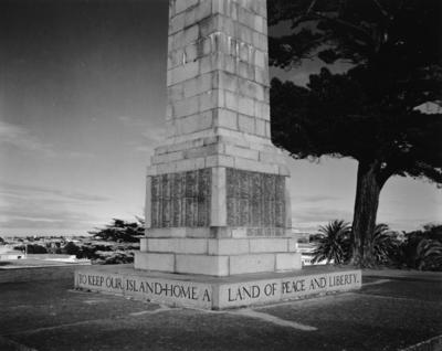 War Memorial, Queen's Park, Wanganui