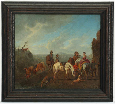 Philips Wouwerman; The Hunt; Circa 1620s-1670; 1922/1/37