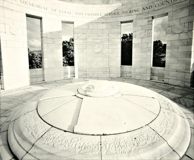 Laurence Aberhart; Massey Memorial (Wellington, February 1986) [diptych]; 1986; 1988/3/77