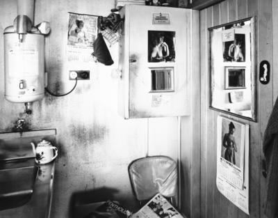 Smoko room No.1 Printing Office, Wanganui