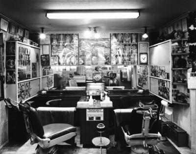 Tattoo Studio, Karangahape Road, Auckland 1987