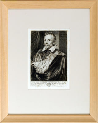 Dominus Joannes Vanden Wouwer (after Anton Van Dyck b.1599 d.1641)