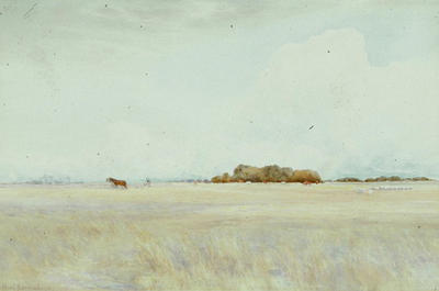 Edward Noel Barraud; Harvest Scene; 1918; L1940/6/8
