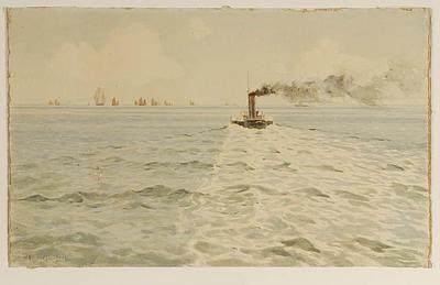 W.A. Ingram; Ships at Sea; Circa 1900; L1940/6/14