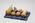 Ceramic fruit tray and fruit