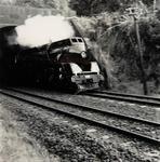 Engine leaving Glen Innes Tunnel