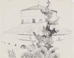Untitled (Building with trees)