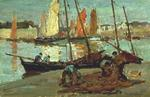 Boats and Fishermen, Concarneau