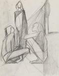 Untitled, (three figures)