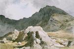 Glyder Fach (A peak of Snowdonia, Carnarvonshire)