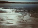 Foam near pond inlet, 1988