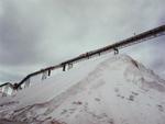 Overhead conveyor, salt stack