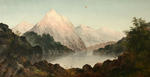 Lake & Mountain Scene