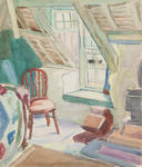An Attic in Old St. Ives