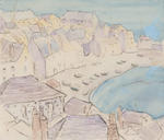 Buildings, Beach and Boats, St. Ives