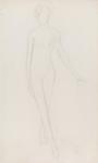Figure with Legs Crossed