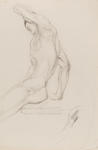 Male Figure with Arm Raised