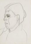 Line Drawing - Cornish Woman