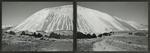 """Keystone"", largest waste dump hill at Kennecott, Utah [diptych]"