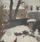 Untitled (building and snow)
