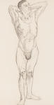 Untitled (Standing Male Nude)