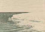 The Great Ice Barrier, Looking East for Cape Crozier Mar.4 1911