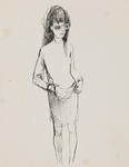 Untitled (Female figure, study)