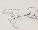Untitled (Lying dog)
